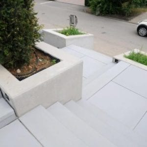 Muurelementen, stapelblokken & traptreden beton