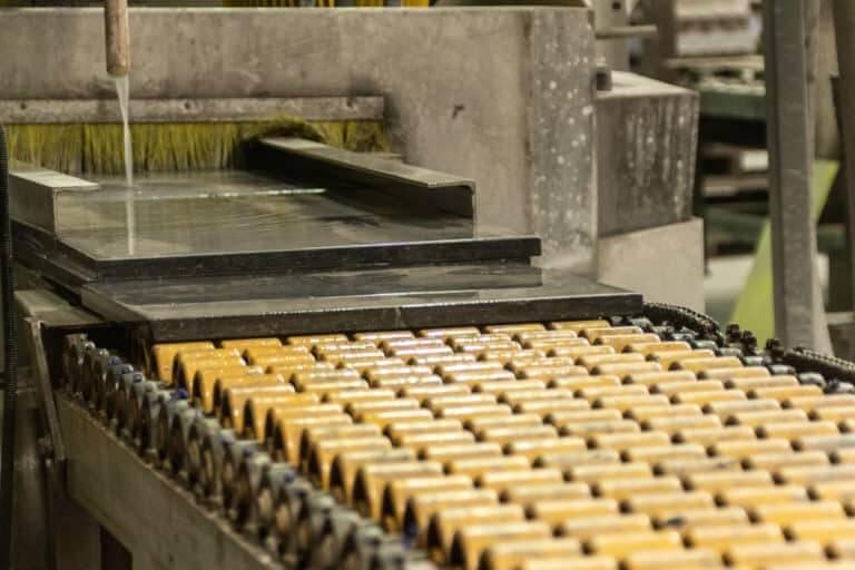 productieband natuursteen