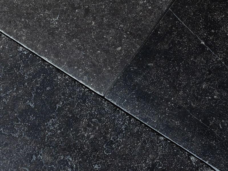 natuursteen voor bunnen detailfoto