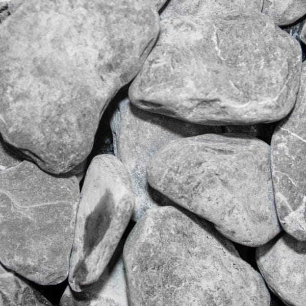 Flat pebbles black 30 x 60 R