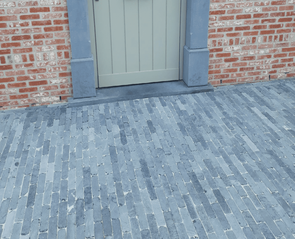 Waalformaat oosterse natuursteen