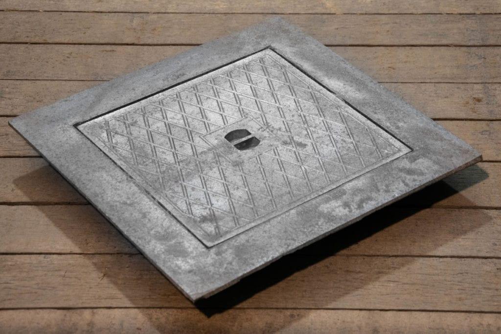enkel deksel aluminium