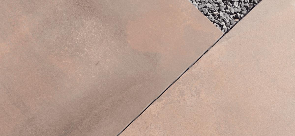 metaallook keramiek bovenaan