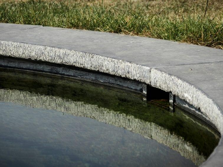 Belgische blauwe steen zwembadboorden neuzen
