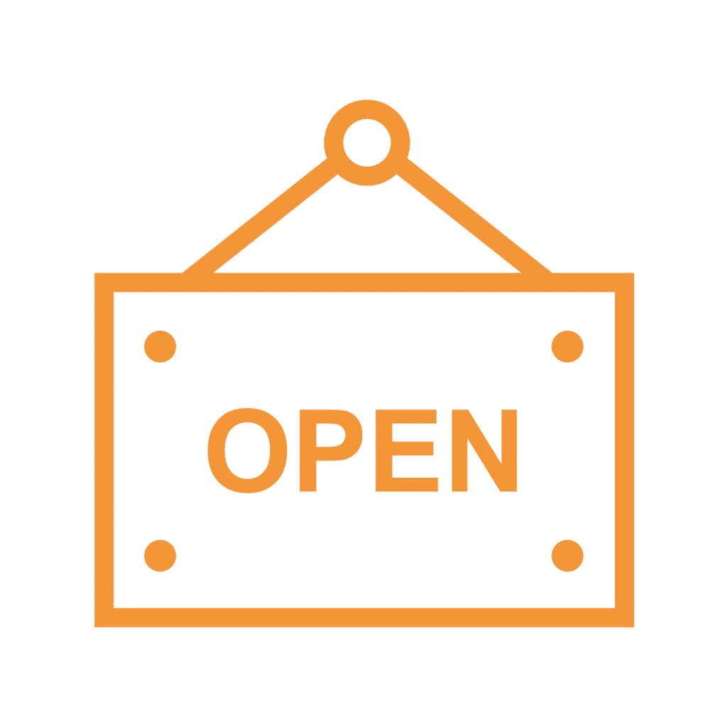 ICOON - open op weekdagen en zaterdag