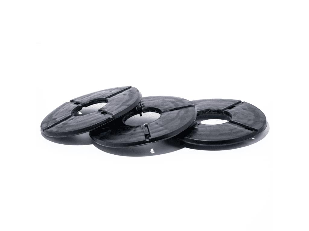 tegeldragers - vulplaatje 2 mm