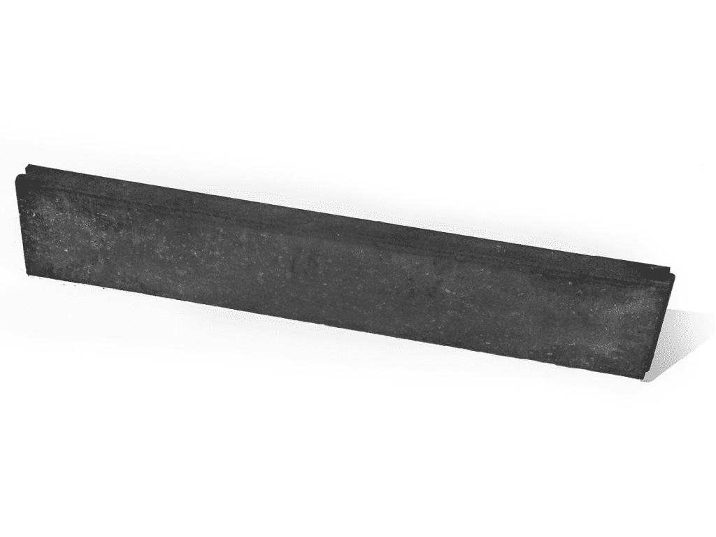 boordstenen beton zwart