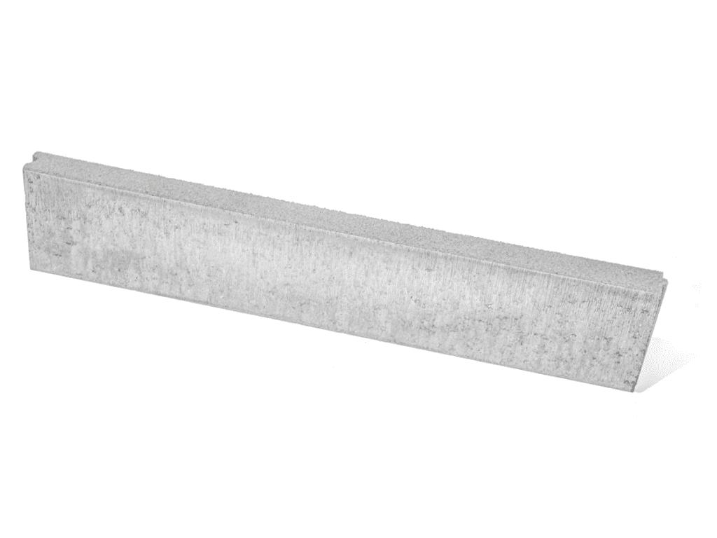 boordstenen beton grijs