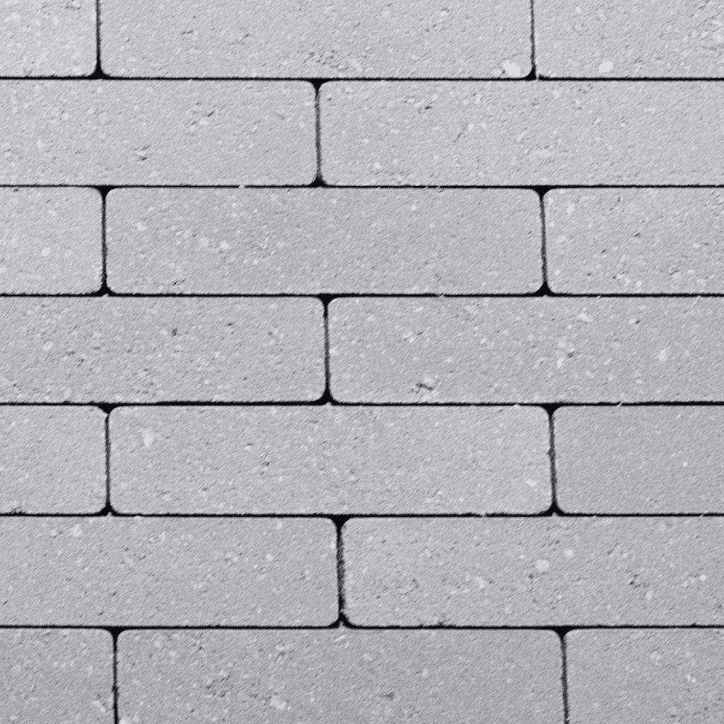 betonklinkers waalformaat zilvergrijs