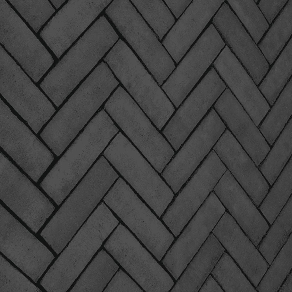 kleiklinker zwart type 503 strak