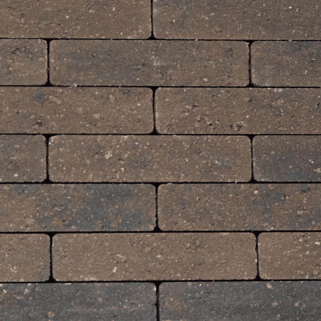 waalformaat beton kastanjebruin