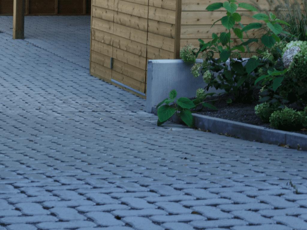waterdoorlatende oplossing Waterpasserende klinkers