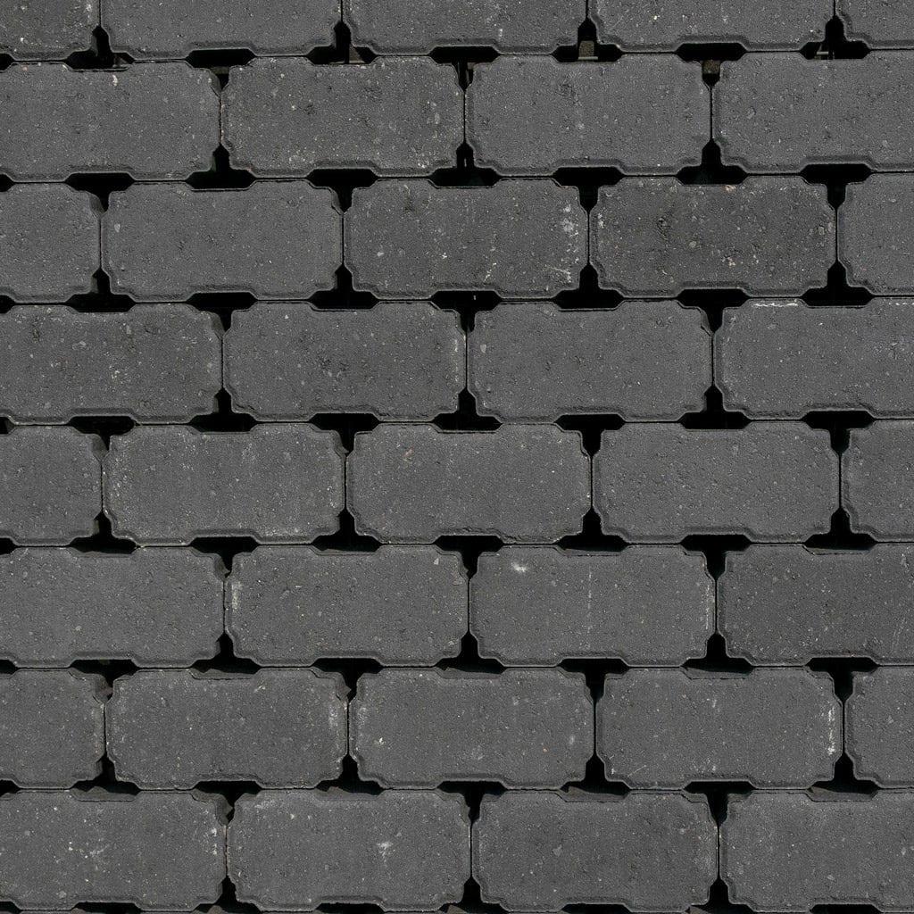 waterpasserende oplossingen betonklinker antraciet