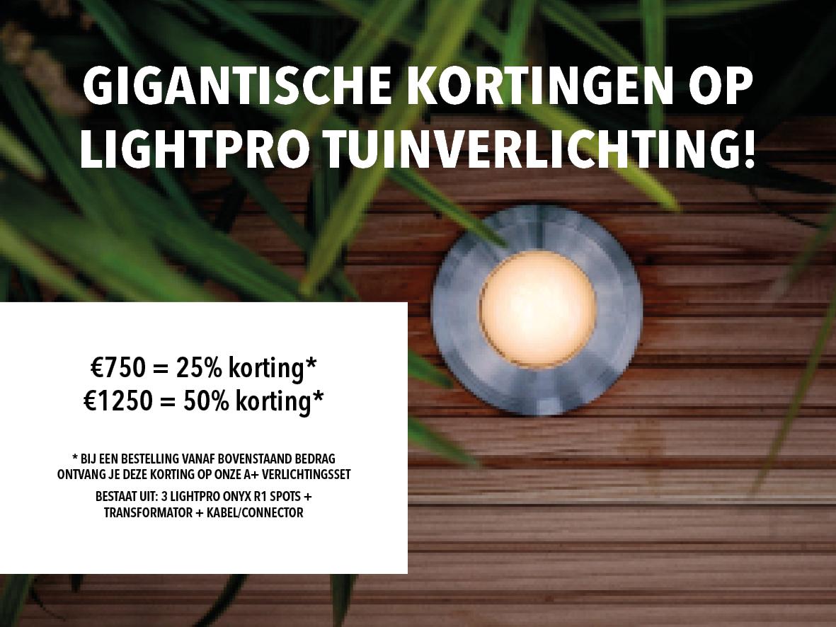Korting op lightpro