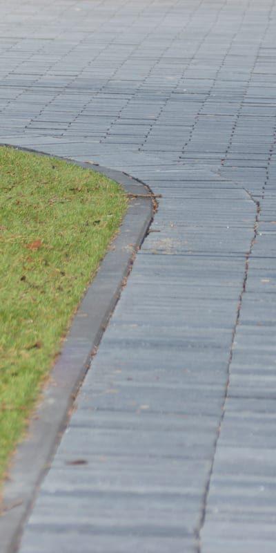 Antraciet beton waalformaat